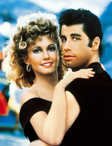 Olivia-Newton-John-with-John-Travolta-from-Grease-