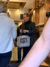 Seinfeld and Gervais Visit Martine's in Scarsdale