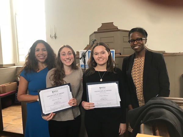 SHS Students win NYCLU Prize