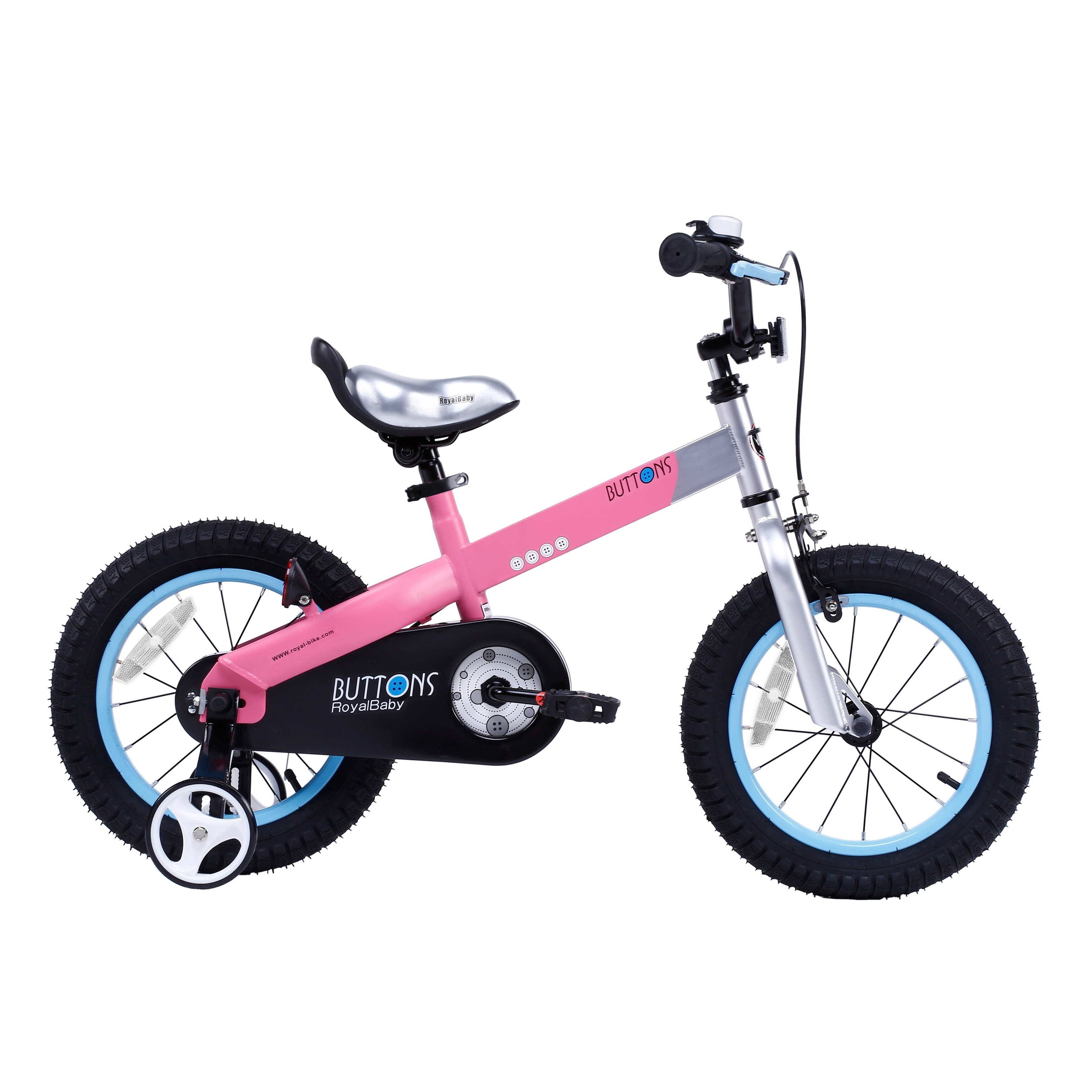 Royalbaby Matte Buttons 16 inch Kids Bike with Training Wheels 2643d1bc fe0c 4785 9302 30b450251efa 1