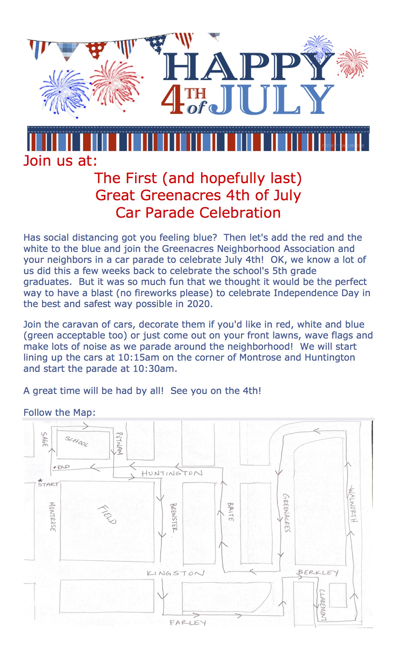 Greenacres 4th of July