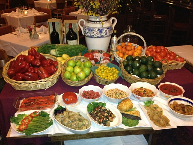 Antipasto Table1