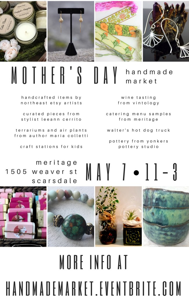 Mother s Day Market Poster ADDRESS