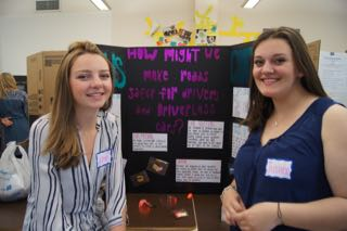 justine and sophie- driverless vehicles