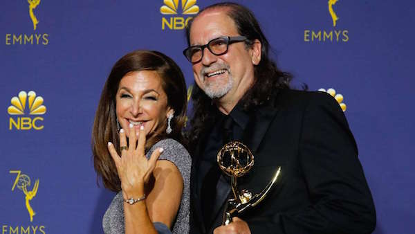 Emmy Winner Glenn Weiss Proposes to Girlfriend On Stage During Acceptance Speech